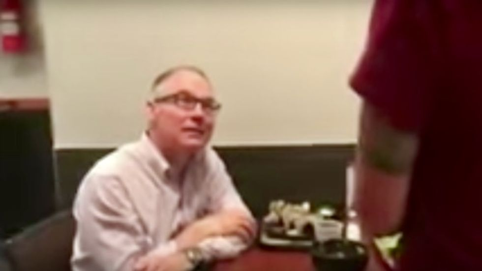 WATCH: EPA's Scott Pruitt confronted by woman in restaurant over environment policies