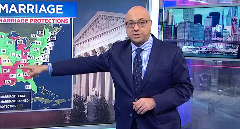 'I'd be panicked': MSNBC's Ali Velshi warns Trump court pick could destroy LGBT rights