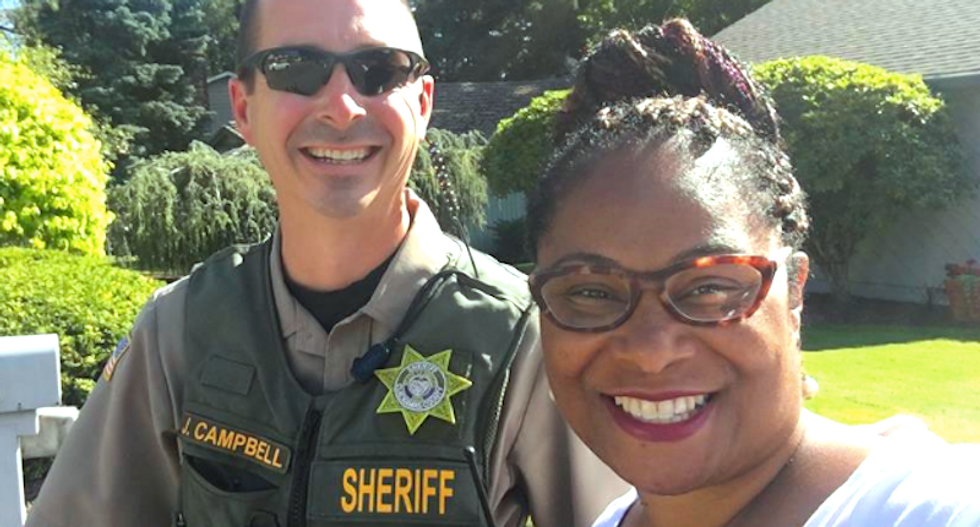 Oregon woman calls cops on black lawmaker knocking on doors while campaigning for re-election