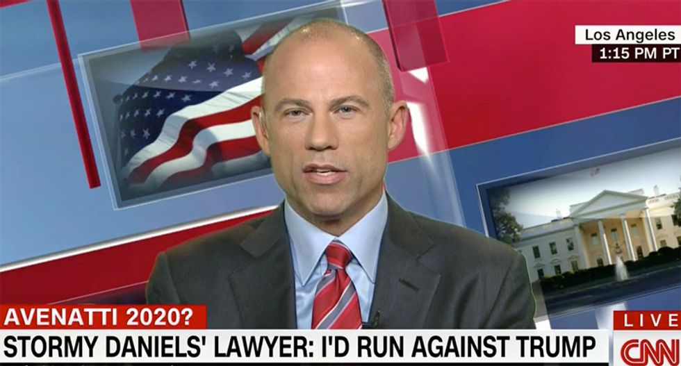 Attorney Avenatti makes pitch for 2020 Trump challenge by daring president to match tax records with him