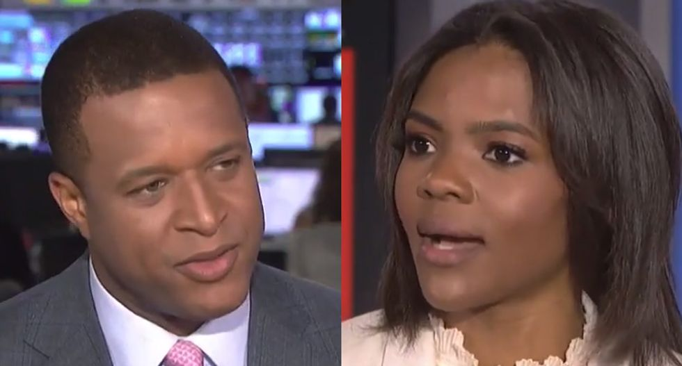 MSNBC host Craig Melvin grills Trump defender Candace Owens after she accuses liberals of fear mongering
