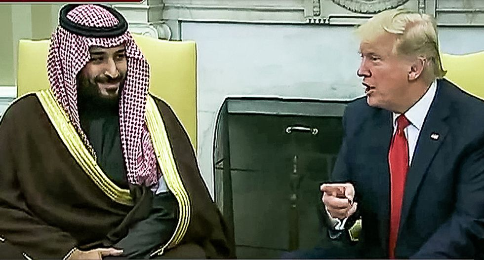 Team Trump pushes ahead on new Saudi arms deal after ousting inspector general who was investigating them
