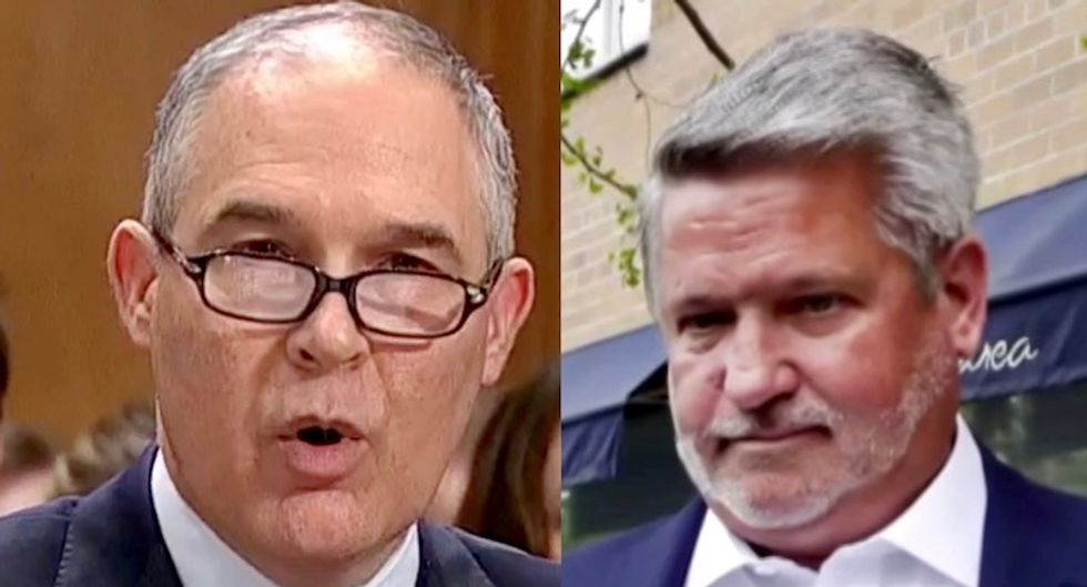 MSNBC analyst says new communications hire Bill Shine was behind Pruitt ouster: 'He's cleaning house'