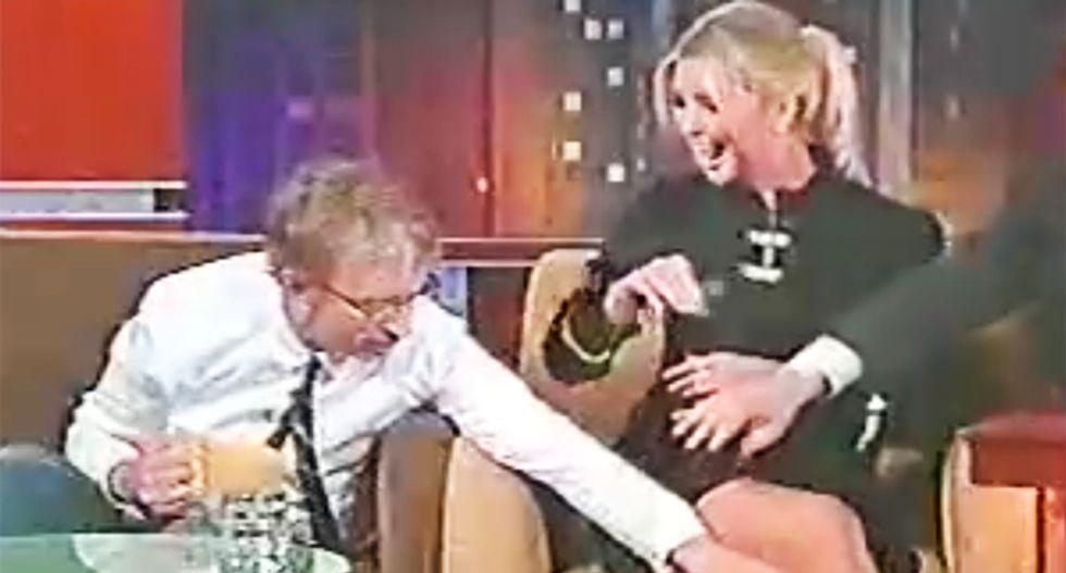 WATCH: Video resurfaces of comedian Andy Dick groping Ivanka Trump on 2007 Kimmel show