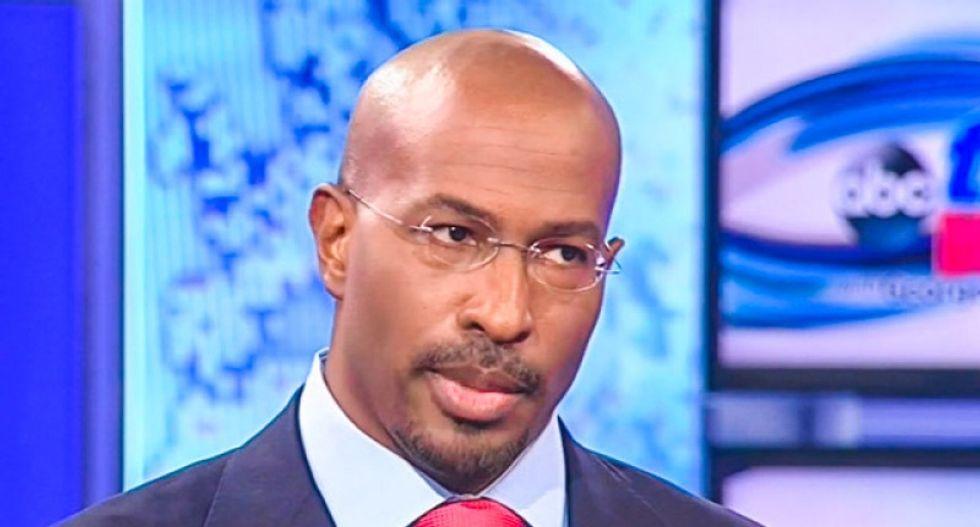Van Jones shuts down CNN guest trying to use Dallas shootings to smear #BLM