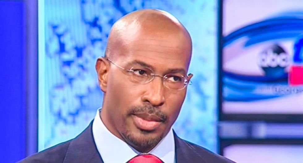 Van Jones rips DNC chair over rift between Sanders and Nevada Dems: 'I think she made it worse'