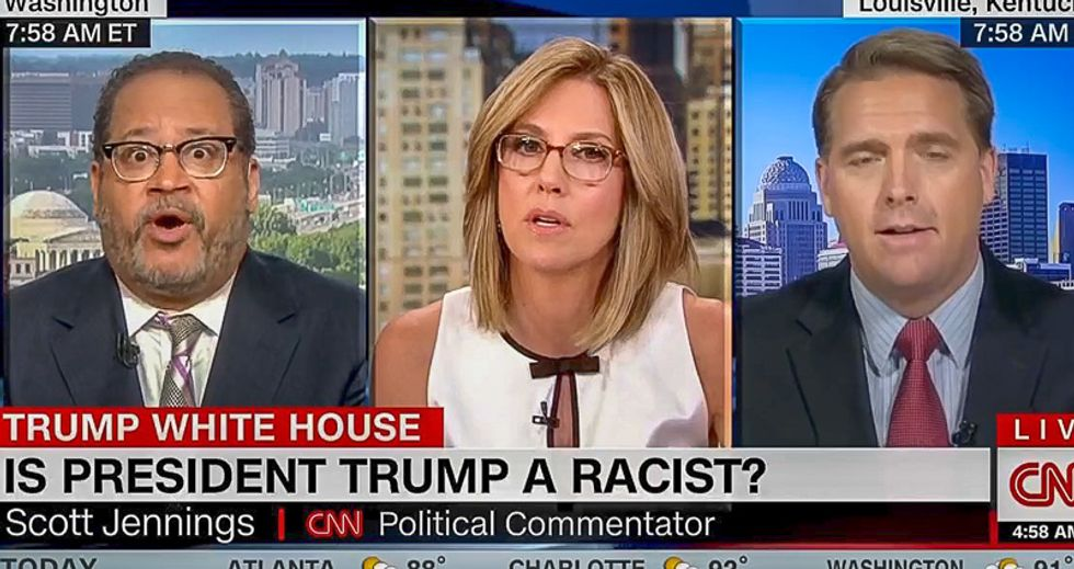 Michael Eric Dyson stomps GOPer 'complicit' in Trump's racism: 'White folks like you need to find a spine'