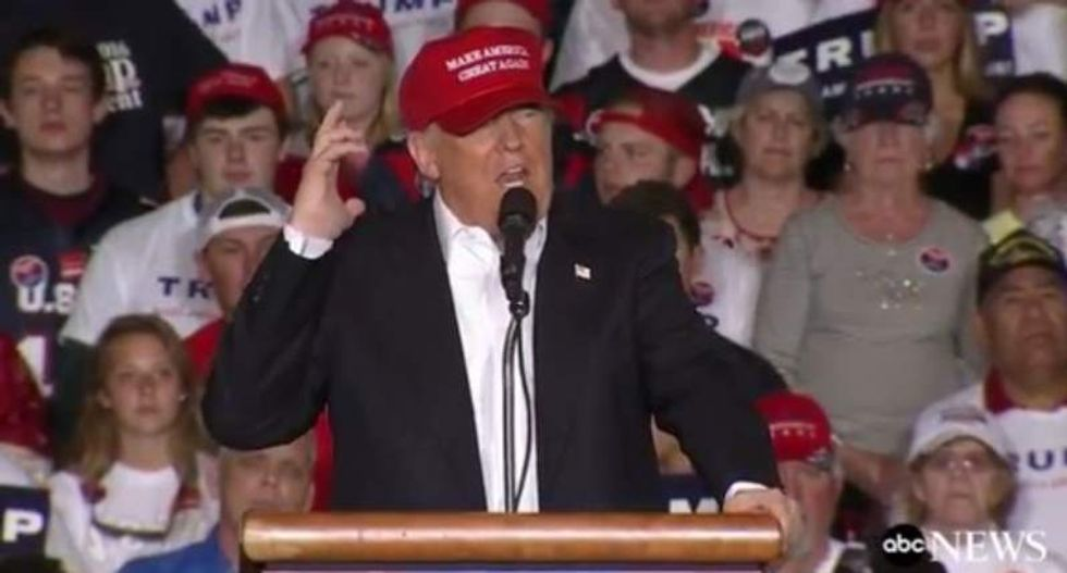 Trump supporter forced to admit president's racism after CNN rolls supercut of the president's bigotry