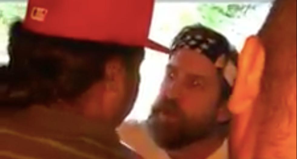 WATCH: White man goes on racist tirade because neighbors were playing Latin music