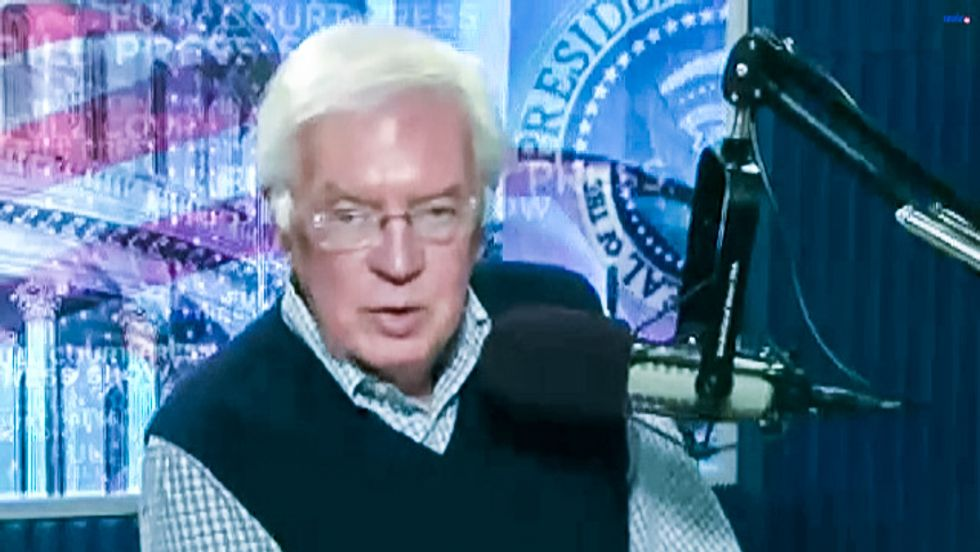 'Death by hanging': GOP 'should have thought about' treason penalty, radio host warns