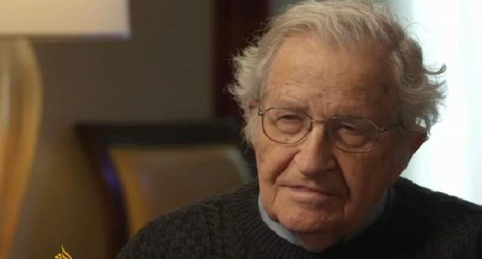 Noam Chomsky: Trump is a 'sociopathic maniac' capable of provoking 'civil war' if he doesn't win