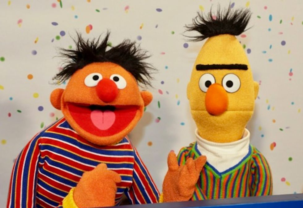 Bert and Ernie a 'loving couple' says 'Sesame Street' writer, before backtracking