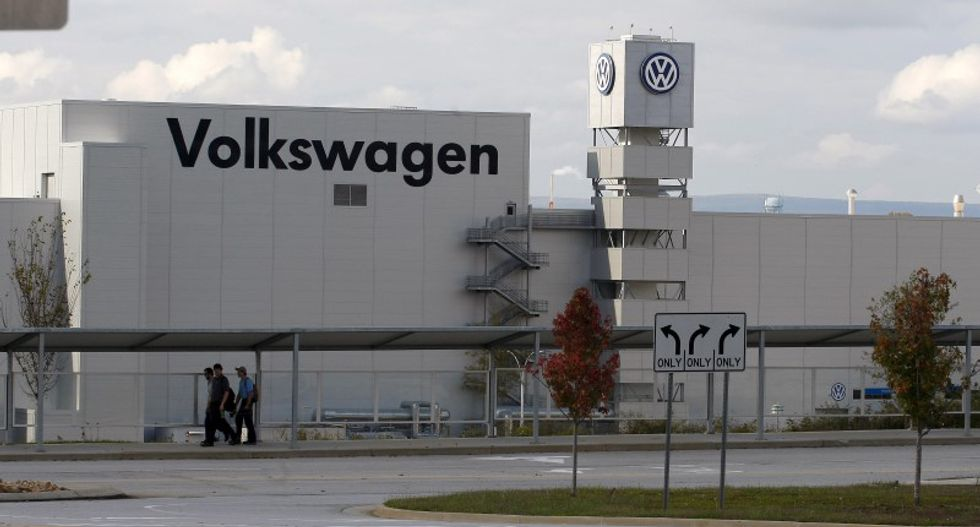 Volkswagen is going to court to stop the United Auto Workers from being the company's union