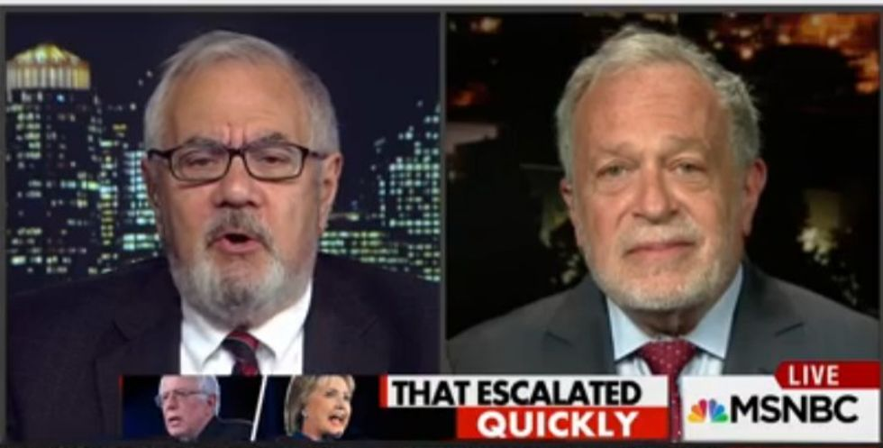 Robert Reich and Barney Frank clash over Bernie Sanders' remarks on 'too big to fail'