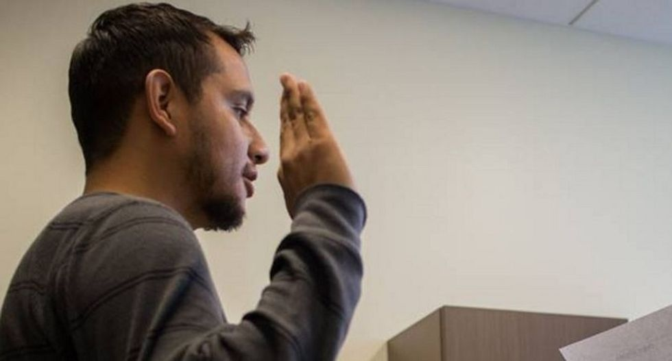 Undocumented Iraq war veteran wins US citizenship after being deported: 'Now the law is on my side'