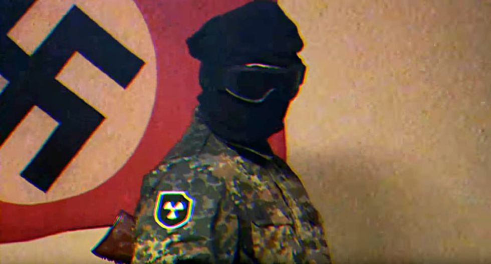 FBI busts 'Atomwaffen' Neo-Nazi in Florida for making explosives -- and finds radiation materials