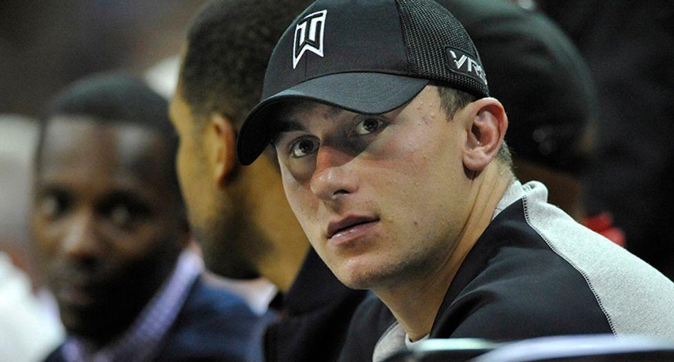 Dallas grand jury indicts former quarterback Johnny Manziel after hitting his ex-girlfriend