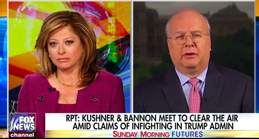 Karl Rove: 'Three tribes' in the 'unhealthy' White House have been leaking info on each other for weeks