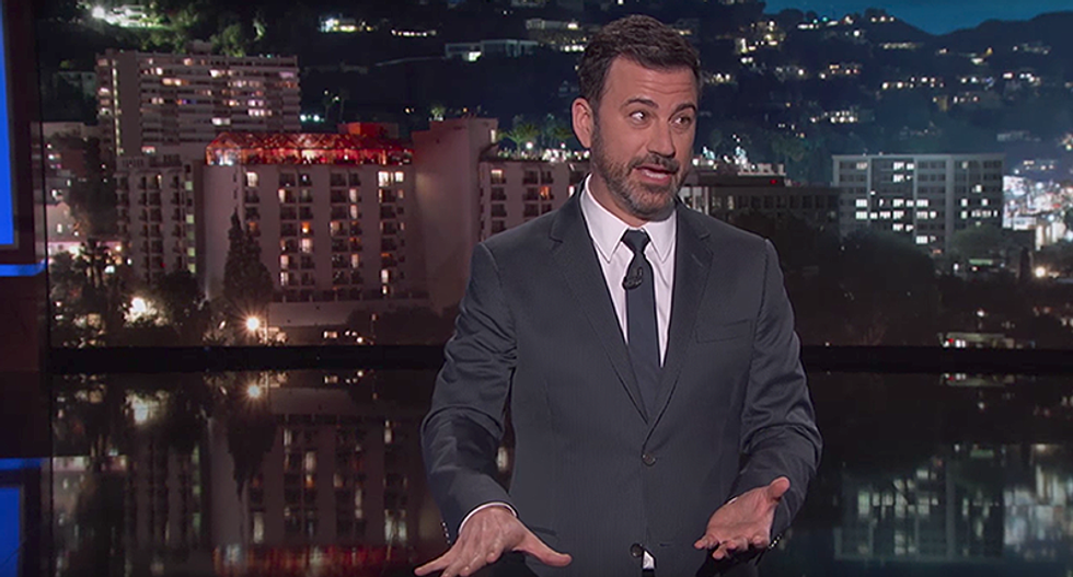 'This ends with Melania handing Mueller a package of files': Kimmel zaps Trump over latest subpoena