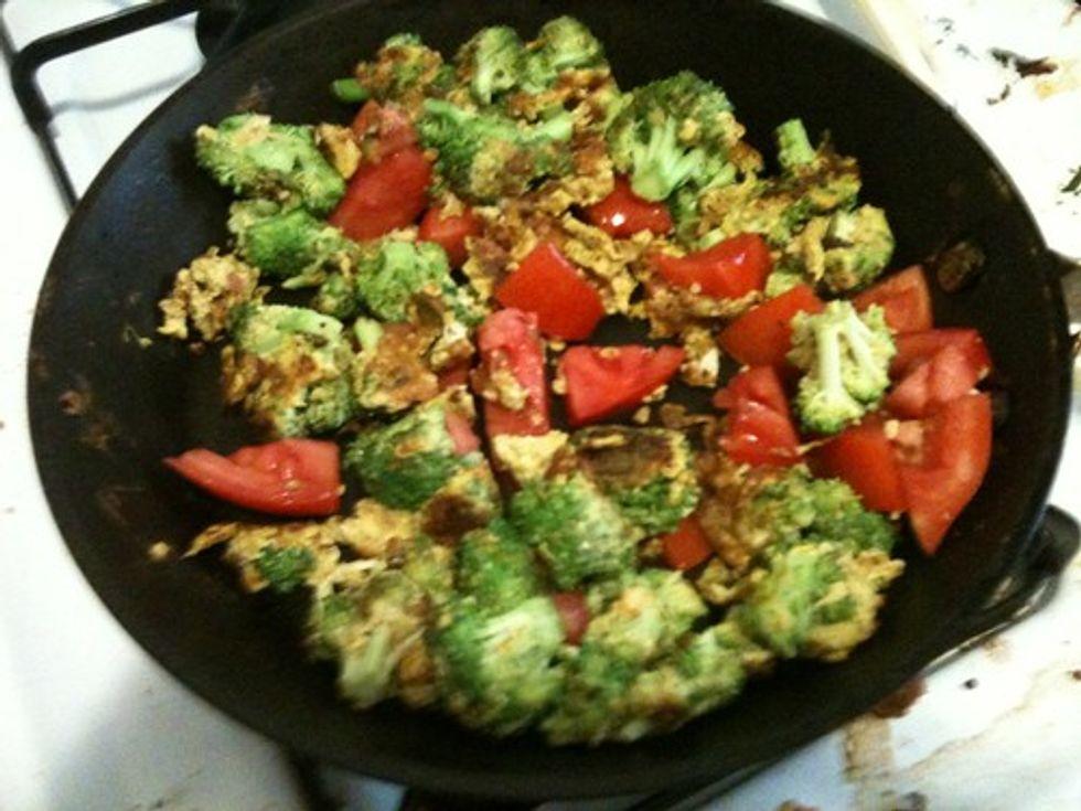 Broccoli eggs
