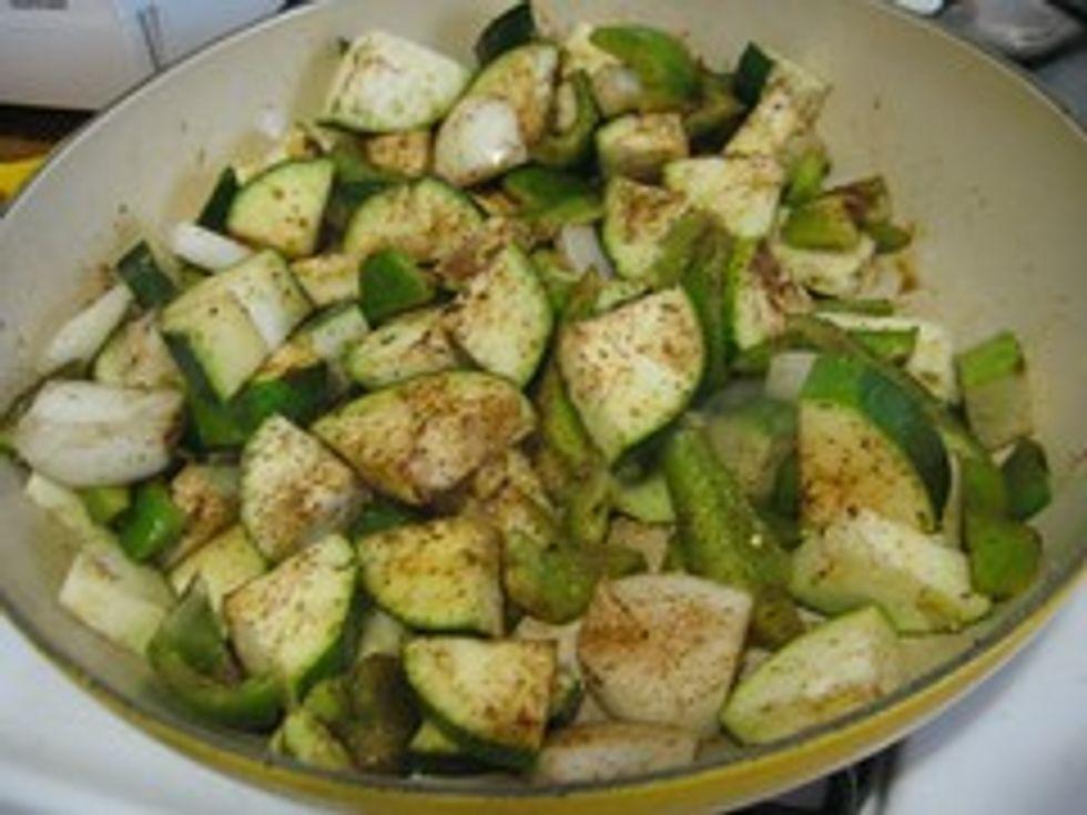 Zucchini mix