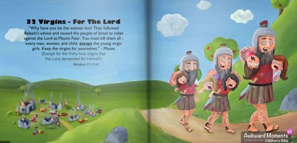 Biblical terror - Awkward Moments Children's Bible