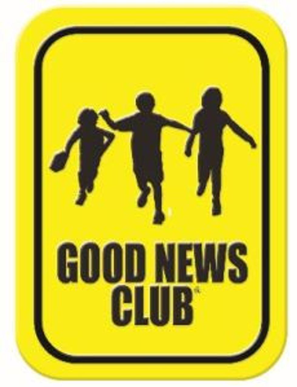 Good news club sign