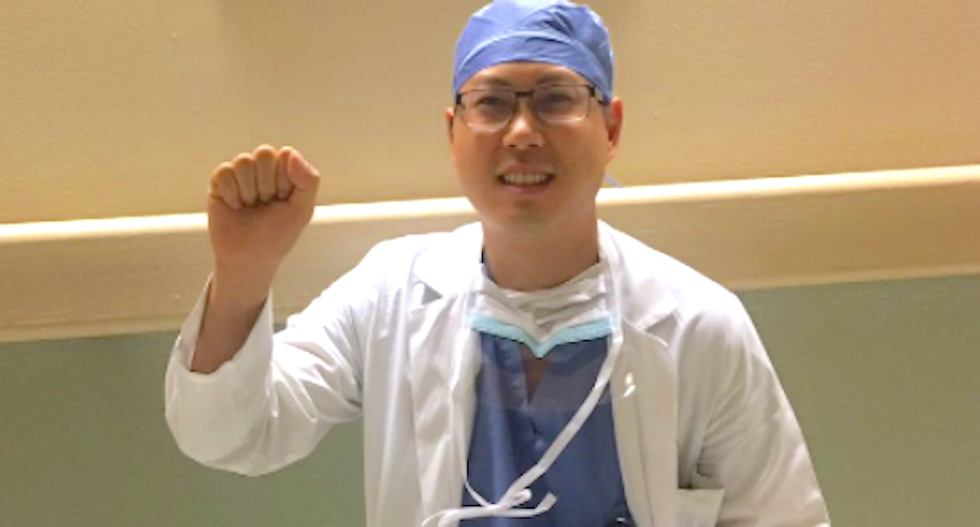 Asian American doctor claims Vanderbilt booted him from his job because he took Trump to court and won