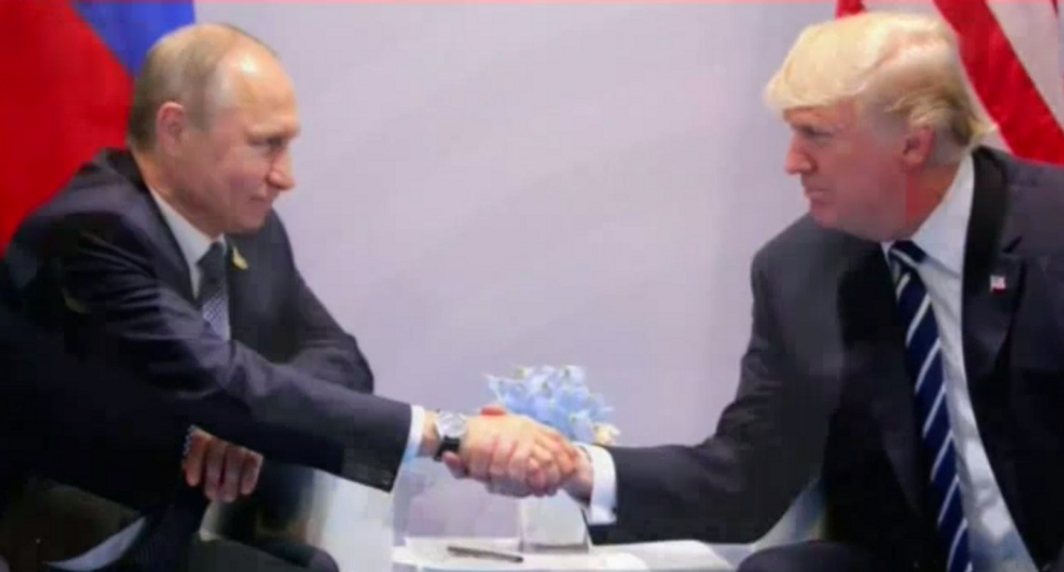 Democratic lawmaker calls out Trump for not cancelling Putin meeting after indictments: 'We are at war with Russia'