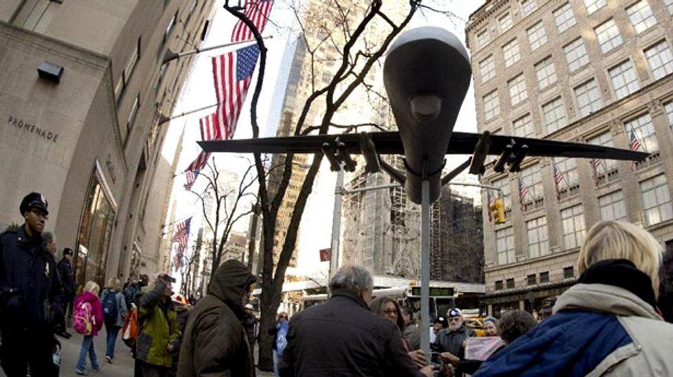 U.S. drone strikes set 'dangerous precedent,' say former senior officials