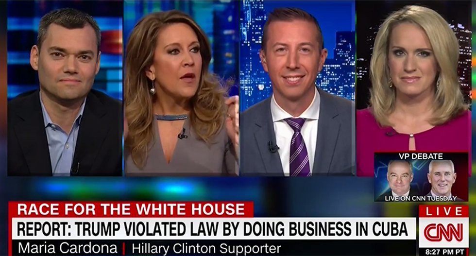 'You can't say another thing about Hillary Clinton': CNN panel shuts down Scottie Nell Hughes