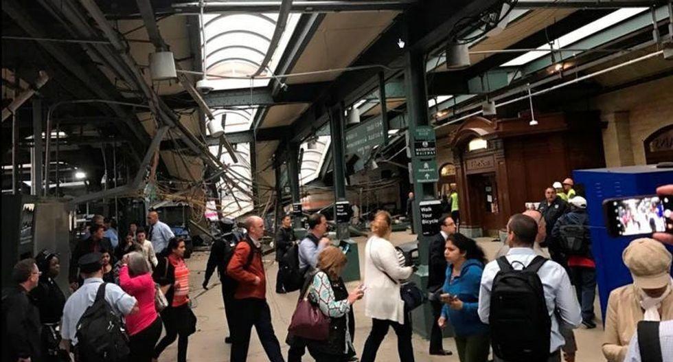 Investigators seek answers in Hoboken trail derailment