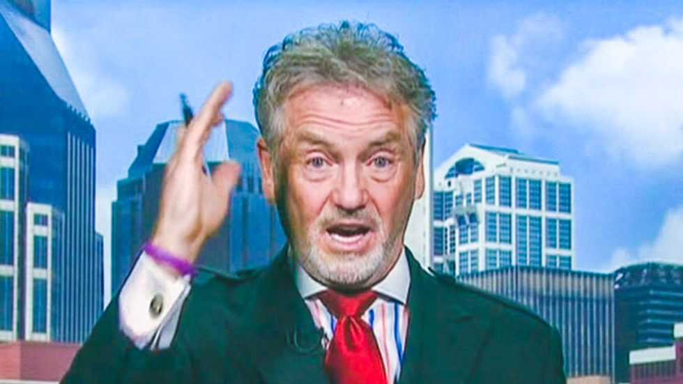 Country music's Larry Gatlin rants to Fox about a 'half-breed Cherokee' grandma to slam liberals