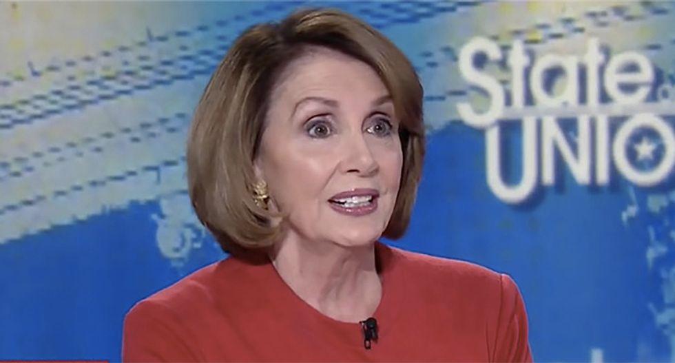 Speaker Nancy Pelosi is ready to see Trump 'in prison'