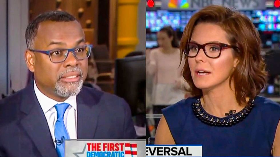 WATCH: Princeton professor jerks a knot in MSNBC anchor for defending 'innocence' of racist Harvard reject