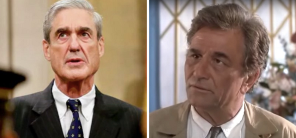 Chris Matthews hilariously compares Robert Mueller to TV detective 'Columbo' on The View