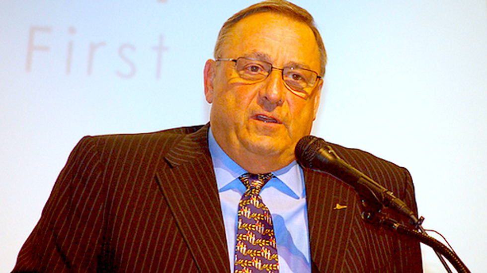 Maine's GOP governor met with 'sovereign citizens' who seek execution of Dems: book