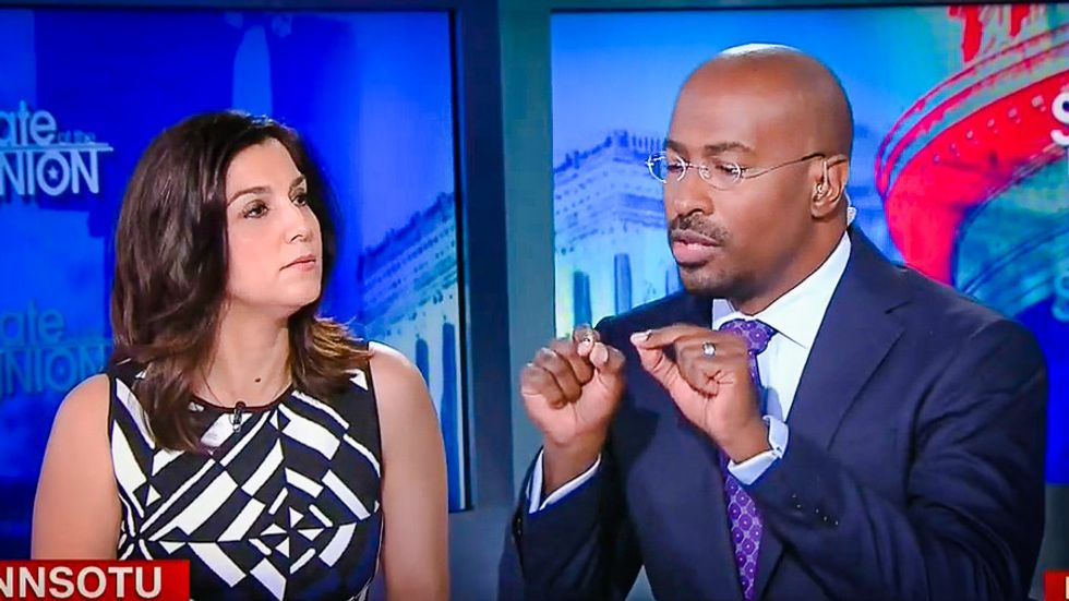 Van Jones silences Trump supporter: Tax-evading billionaires are 'part of the corruption'