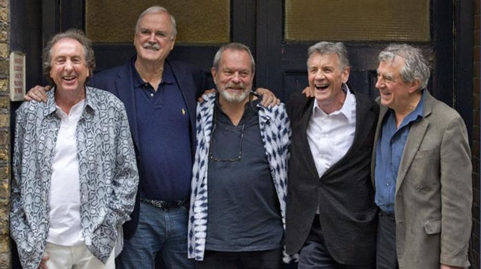 Monty Python promise smut, laughs, and astrophysics for reunion shows