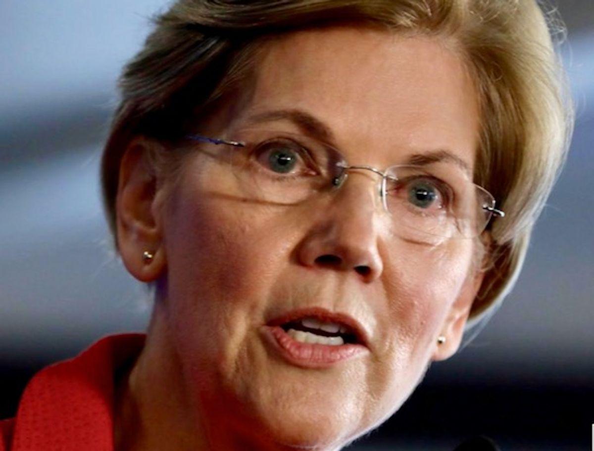 'Good first step': Elizabeth Warren welcomes Biden's IRS boost to target rich tax cheats