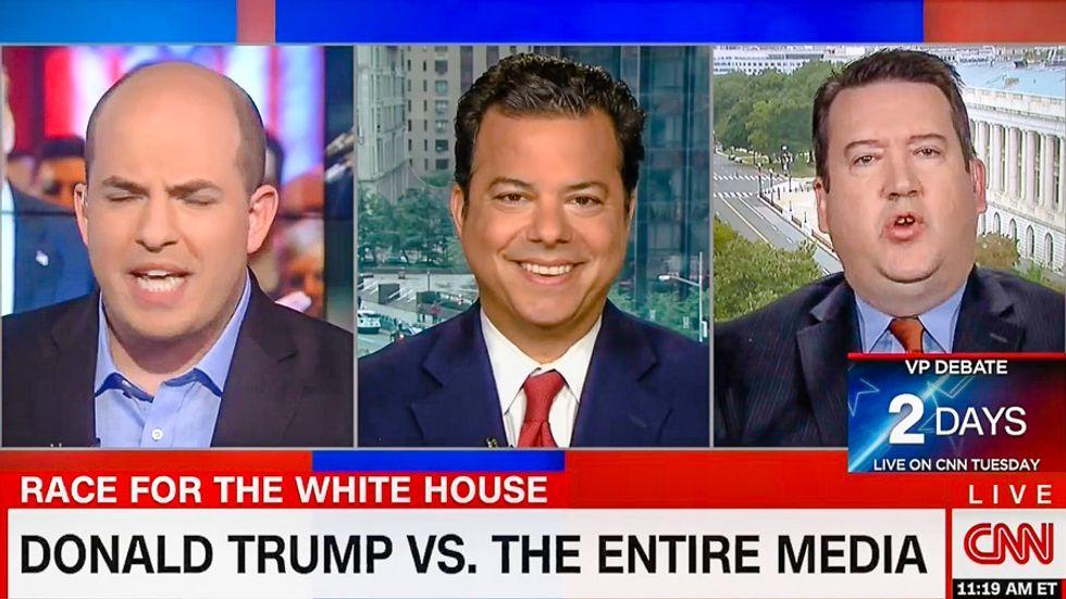 CNN host rips debate conspiracy: 'It's not Lester Holt's fault when Trump lies more than Clinton'