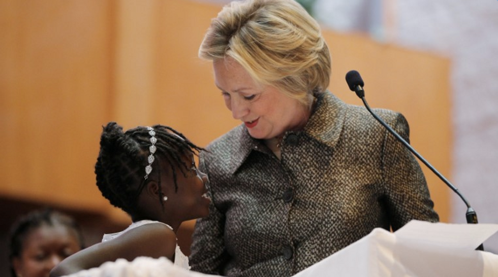 Hillary Clinton: 'My worries are not the same as black grandmothers'
