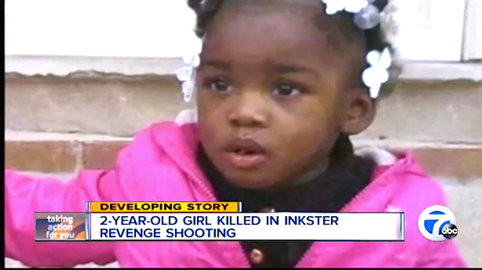 Michigan toddler's point-blank fatal shooting violated 'code of the streets,' neighbor says