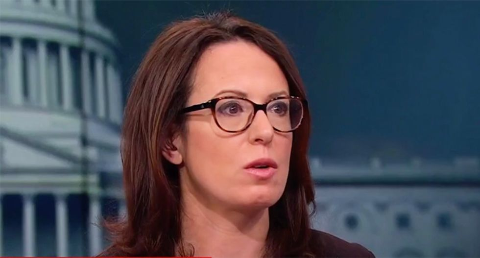 NYT's Maggie Haberman busts Trump for shamelessly inflating his poll numbers
