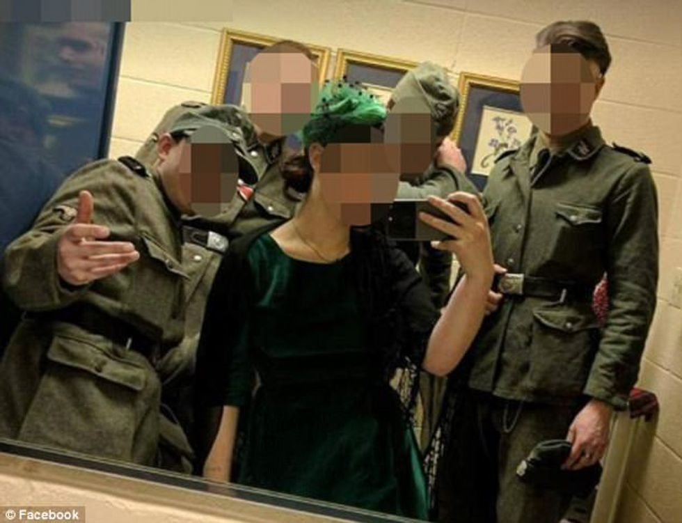 Minnesota neo-Nazis fired from diner after resident exposes them posing in full SS regalia