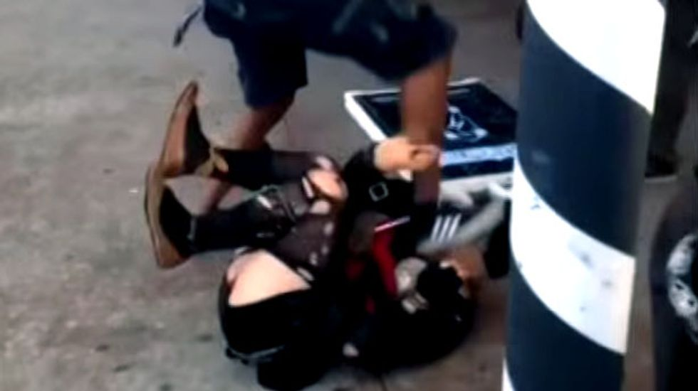 Viral video shows Atlanta trans woman being stomped on as bystanders watch and film