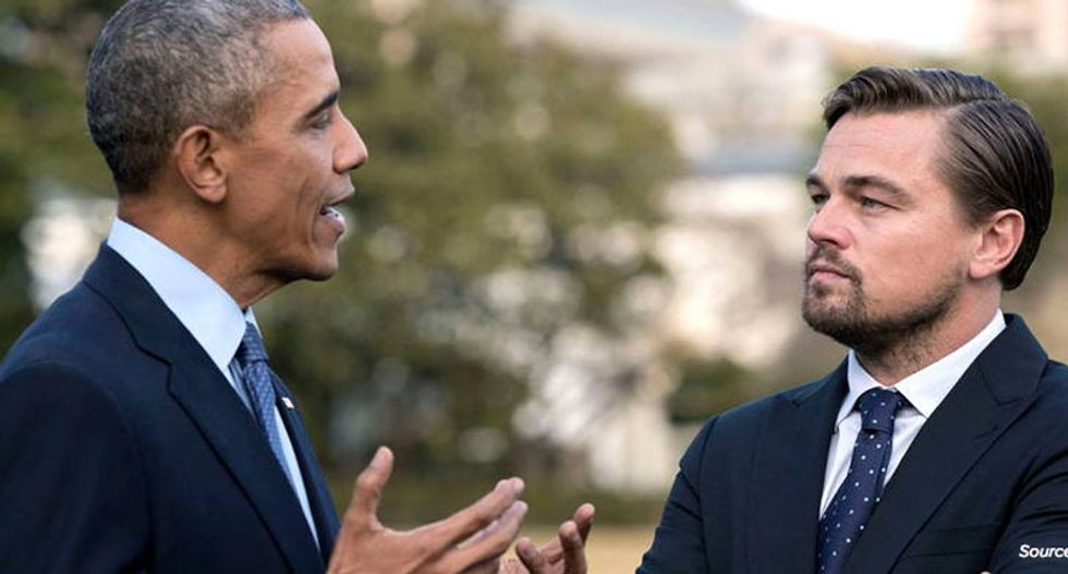 WATCH: President Obama sits down with Leonardo DiCaprio to talk about the future of the planet