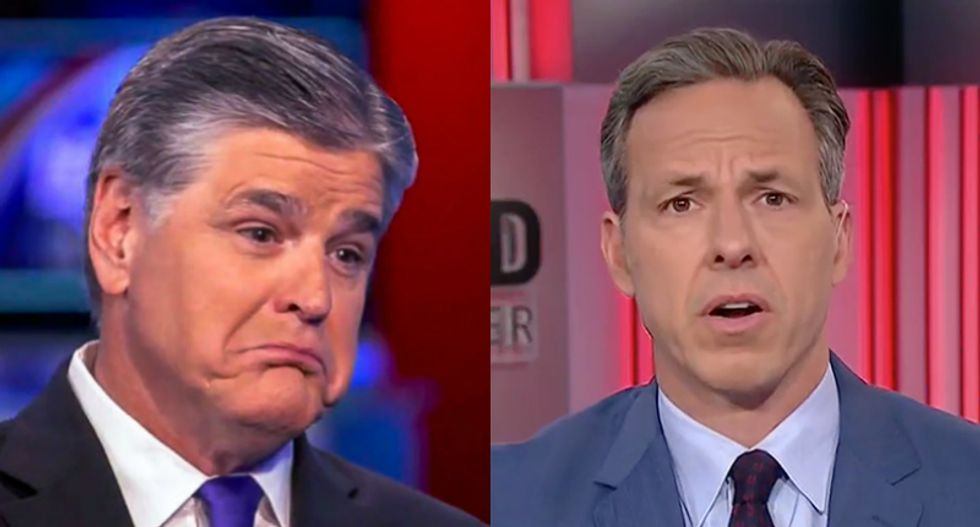 Hannity admits he 'misspoke' about age of sexual consent -- then doubles down on attacks against 'Fake Jake' Tapper