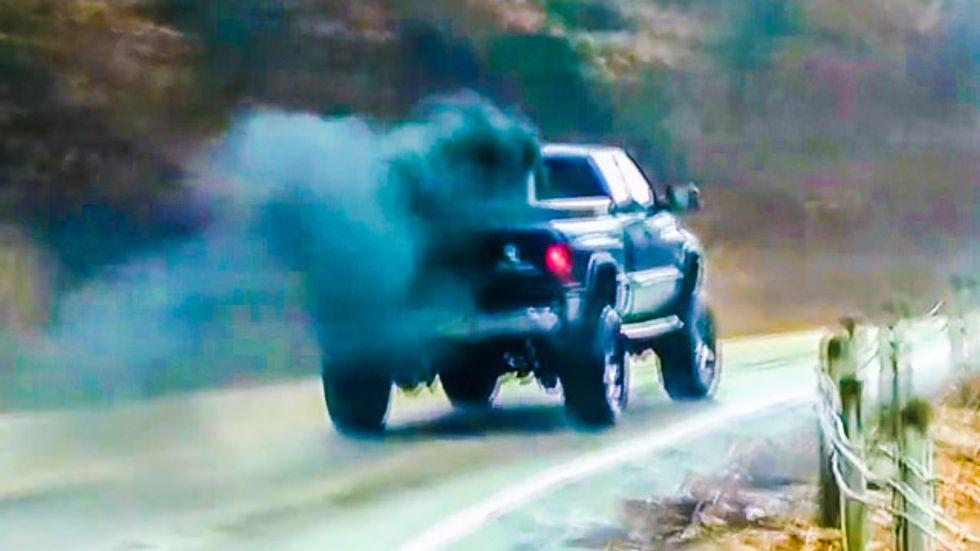 Rolling Coal: Conservatives 'screw' Obama by modifying trucks to spew toxic black smoke