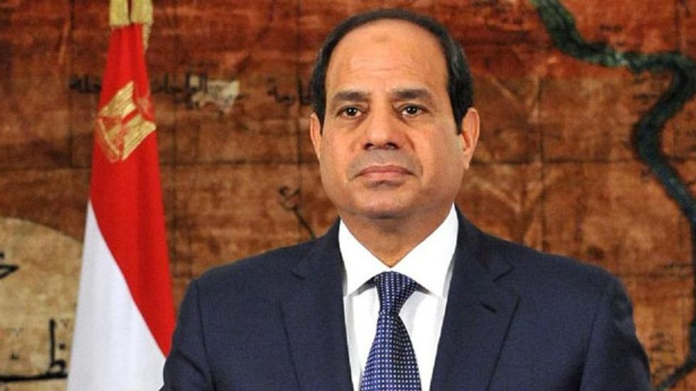 Egypt's Sisi urges new Muslim religious discourse to fight 'terrorism'